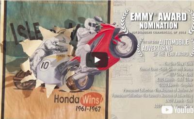 Honda paper - vidéo coup de cœur